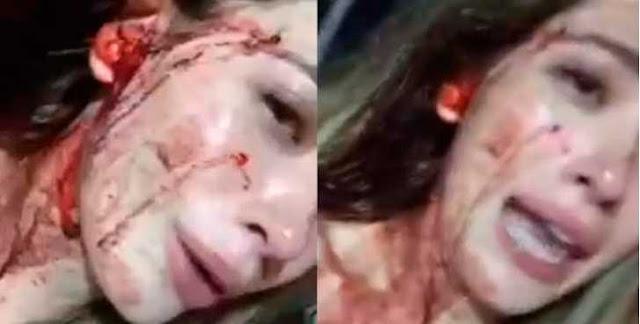 Brenda Zambrano agredida por insultar a bailarina exótica