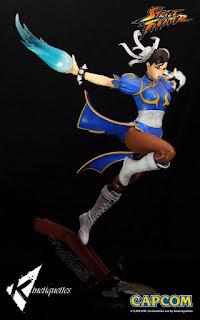 Nueva información para Street Fighter Femmes Fatales - Chun Li Diorama - Kinetiquettes