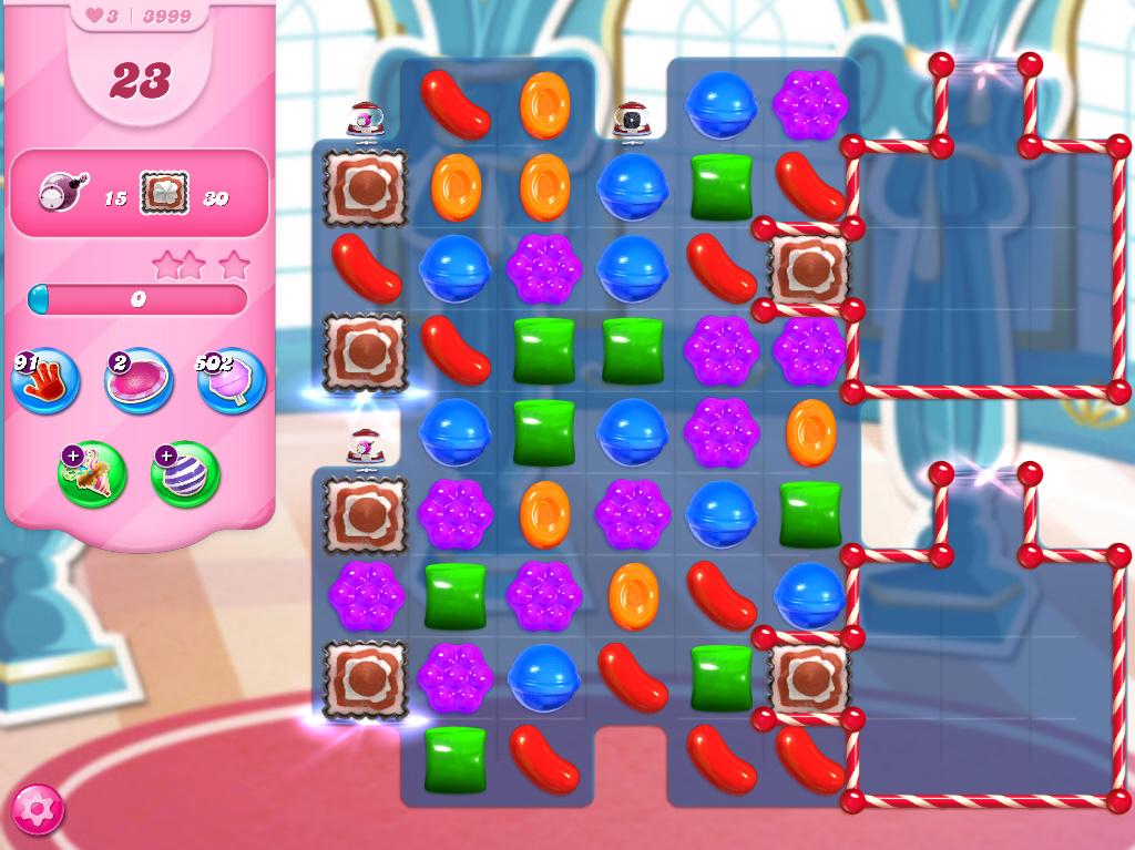 Candy Crush Saga level 3999