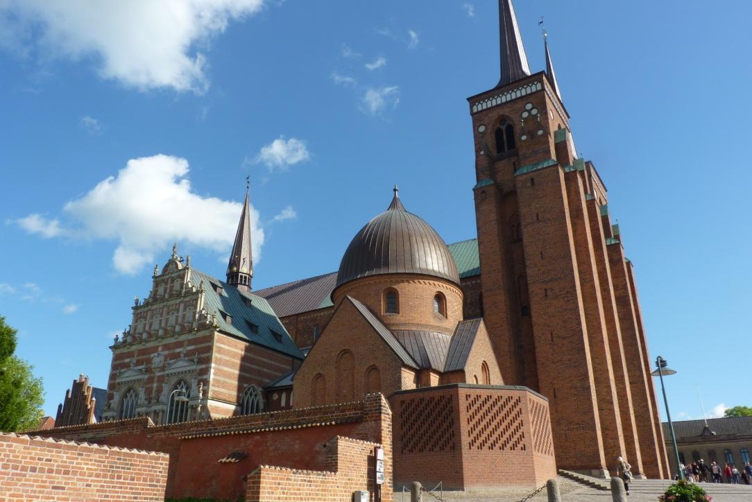 Resultado de imagen de catedral de roskilde dinamarca
