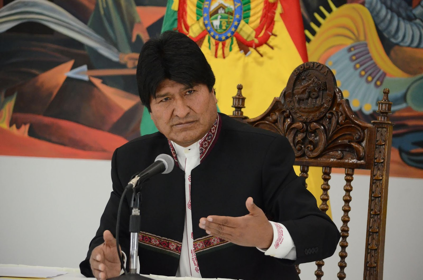 Morales asume toda la responsabilidad del juicio que Bolivia perdió en La Haya / ABI