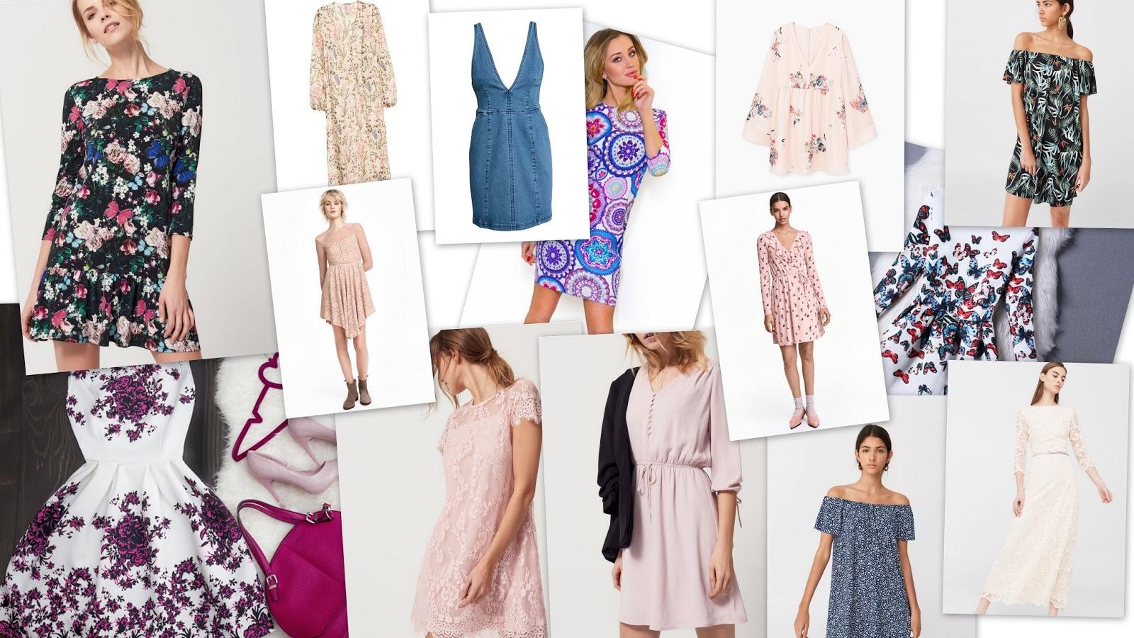 MIX INSPIRACJI #3: Czas przywitać wiosnę! Przegląd sukienek