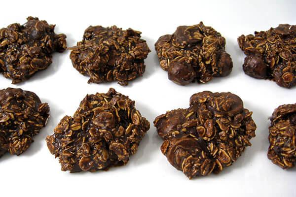 Weight Watchers Skinny Double Chocolate Oatmeal Cookies