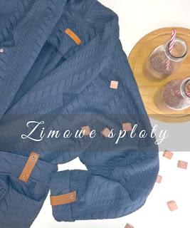 Zimowe sploty - żakardowy kardigan i bluza dla małego urwisa