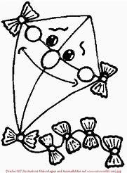 ausmalbilder herbst drachen | x - claudia schiffer
