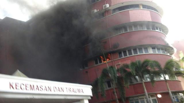 6 Pesakit Maut Dalam Kebakaran Di Hospital Sultanah Aminah JB