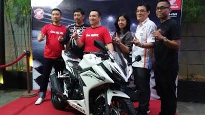 Honda Launching CBR150R Motor Sport ke Community