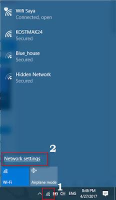 Cara Mem-Forget (Lupa) Jaringan Wifi Hotspot di Windows 10