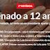 LULA É CONDENADO A 12 ANOS DE PRISÃO