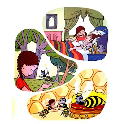 جديد الاستماع و التحدث حكاية   صفية في مملكة النحل المستوى الثاني مرجع كتابي في اللغة العربية
