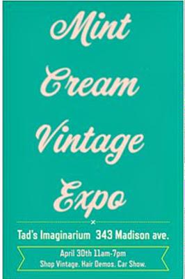 Tad's Imagenarium, Mint Cream Vintage Expo