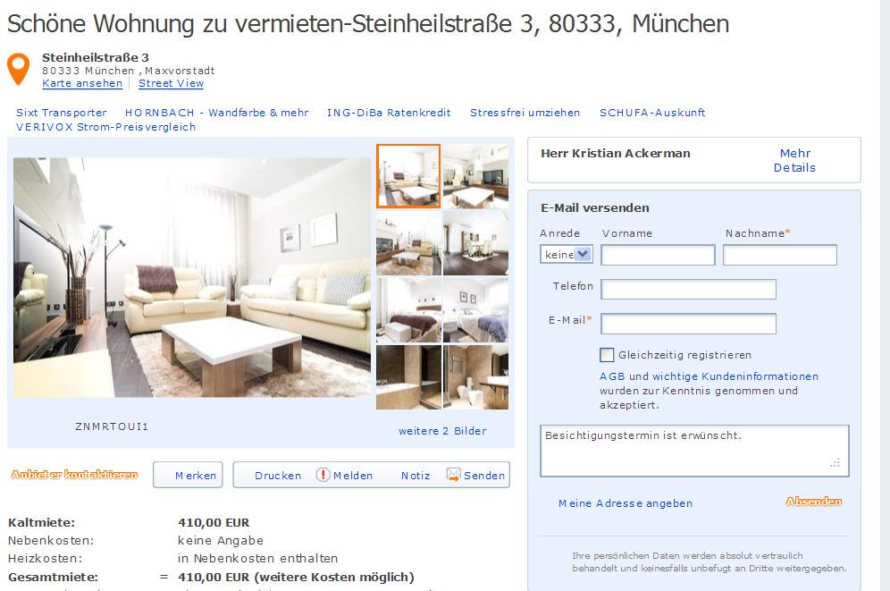 Wohnung In Mainz Neustadt