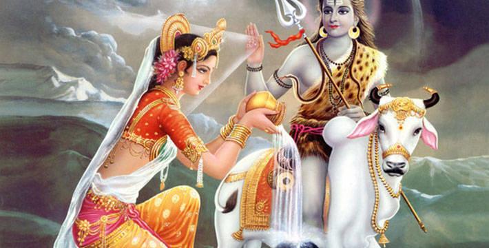सोमवारची - खुलभर दुधाची कहाणी - श्रावणातल्या कहाण्या | Somwarchi Khulbhar Dudhachi Kahani - Shravanatalya Kahanya