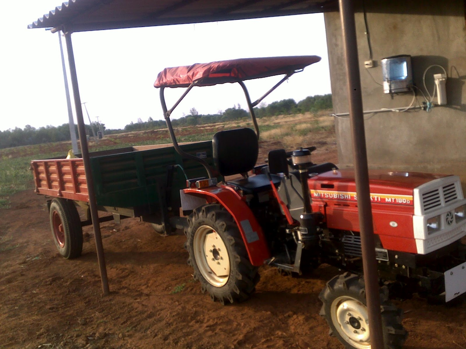 """Since the initial ploughing and development was completed by local tractors,  we wanted a tractor for the """"maintenance"""" mode that could maneuver through  the ..."""