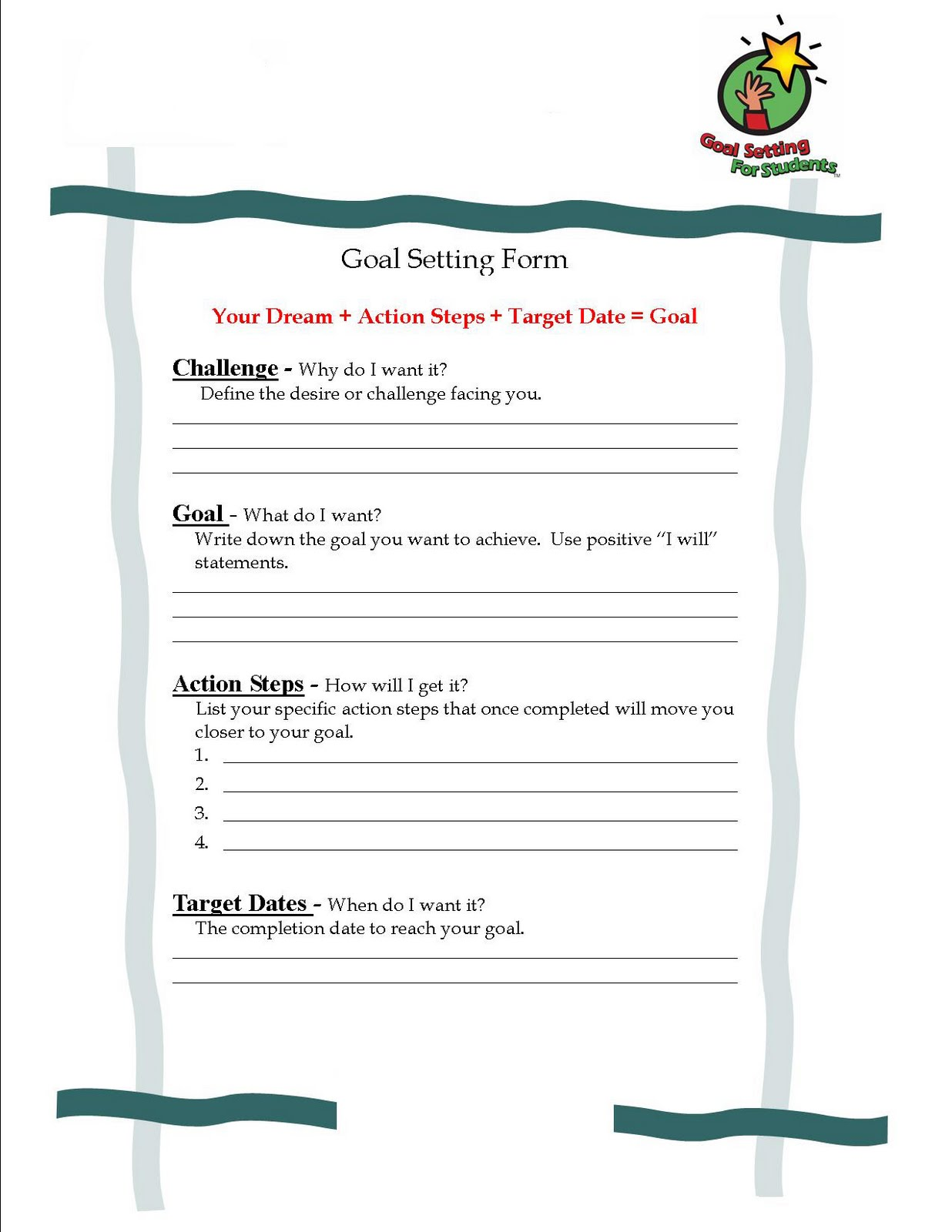 Kathy Kyritzopoulos Student Goal Setting
