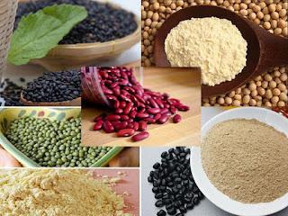 Uống bột đậu giúp tăng vòng 1 hiệu quả