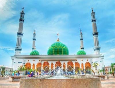 Mesjid Agung Islamic Centre Rokan Hulu