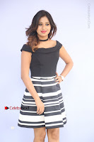 Actress Mi Rathod Pos Black Short Dress at Howrah Bridge Movie Press Meet  0043.JPG