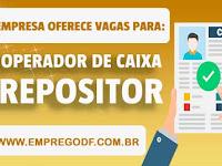 Emprego para Repositor, Operador de Caixa (PCD) - 20.03.19
