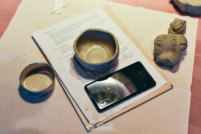My First Ceramic Workshop @ Thirty3Eleven with Xiaomi Mi MIX 2S