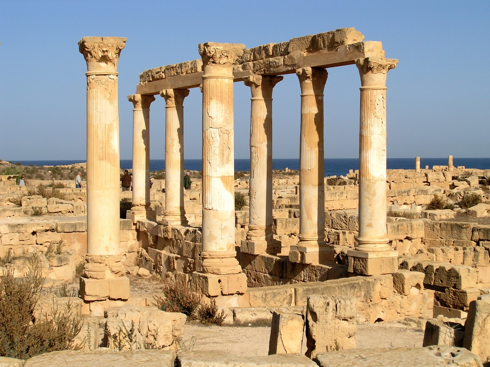 Forever A Pilgrim: Roman Ruins, Libya