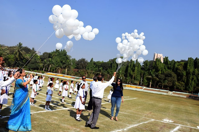 Sporting event of VES DBC School lays emphasis on demonetization & Girl Child Education