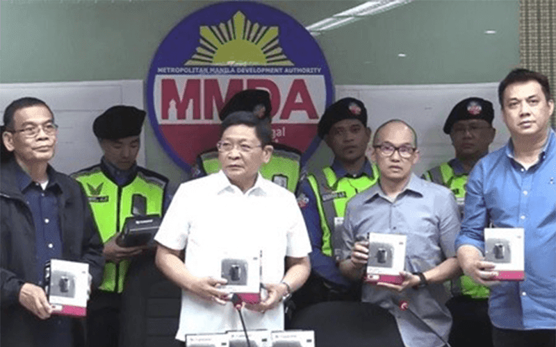 MMDA Traffic Enforcers now equipped with Transcend Body Cameras