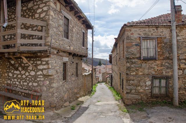Street in #Brajcino village, #Prespa region, #Macedonia