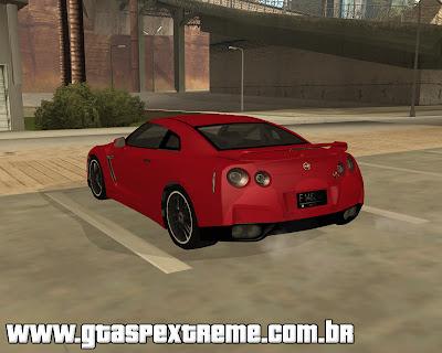 Nissan GT-R R35 para grand theft auto