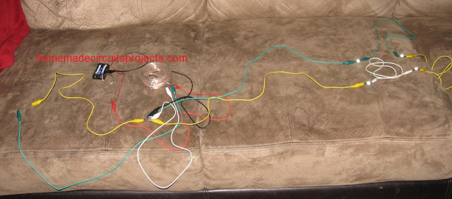 prototype image for the 4 watt joule thief wiring details