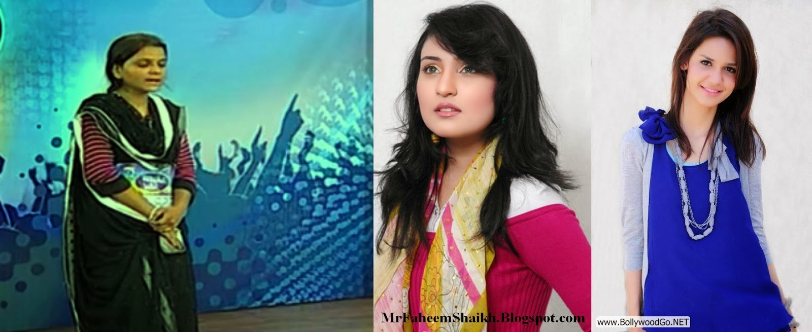 Faheem Shaikh The Artist Maria Meer Sara Raza Khan Sweet Voice Of Pakistan