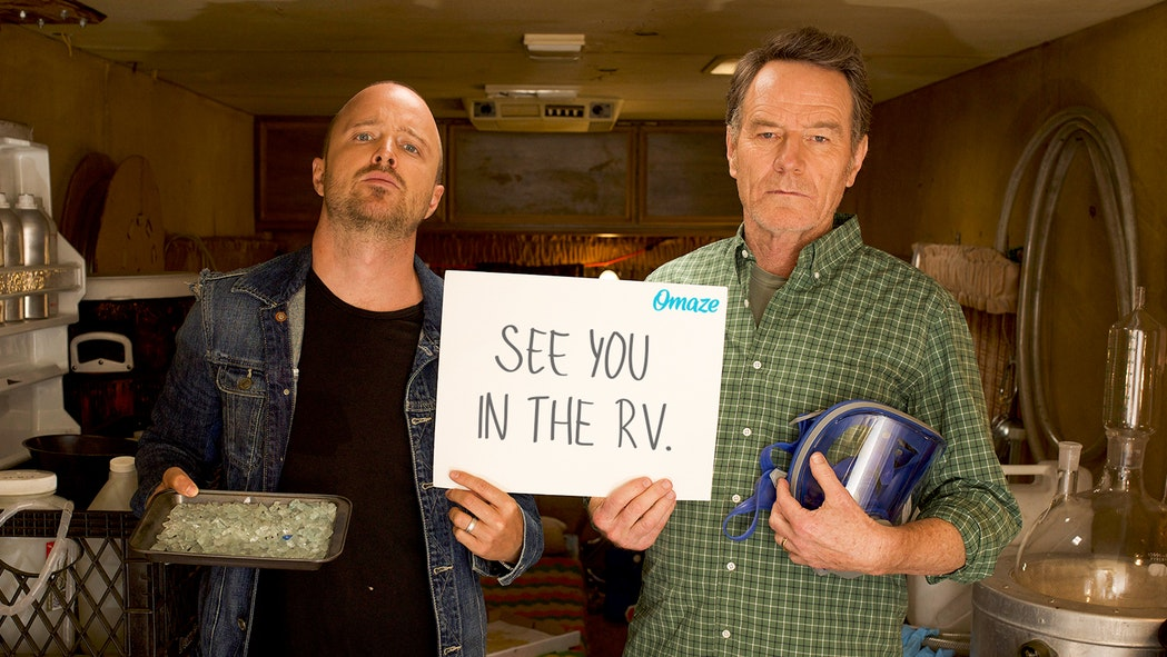 Cook with Bryan Cranston & Aaron Paul in the Breaking Bad RV | 10 Jahre Breaking Bad