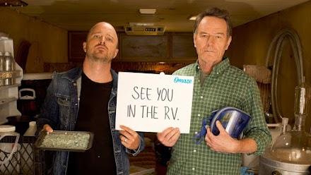 Cook with Bryan Cranston & Aaron Paul in the Breaking Bad RV | 10 Jahre Breaking Bad wird mit einer tollen Aktion gefeiert