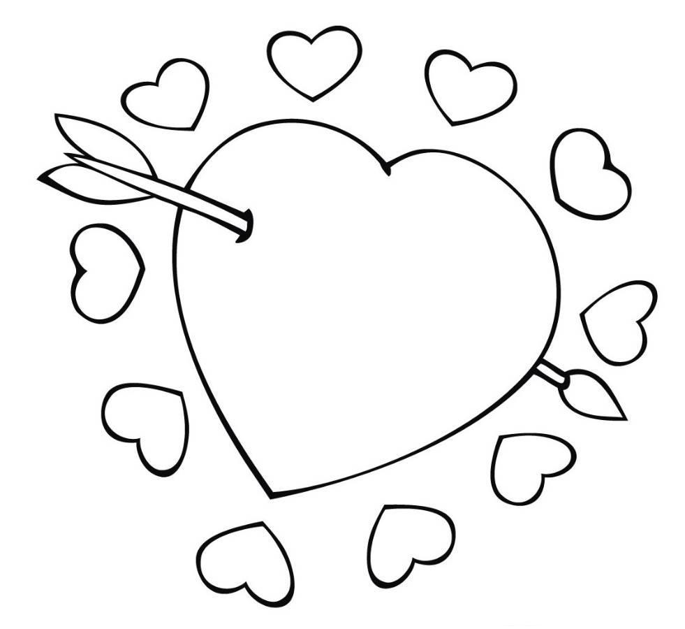los dibujos para colorear   dibujos de amor para colorear