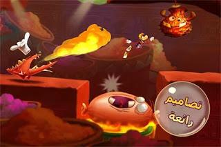 تحميل لعبة rayman fiesta run للاندرويد
