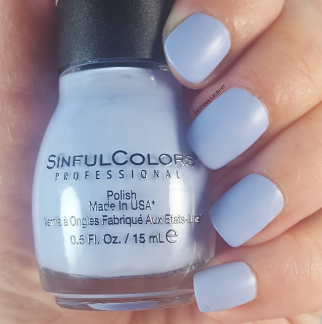 Muted-pastel-coneflower-blue-nail-polish-with-a-matte-finish