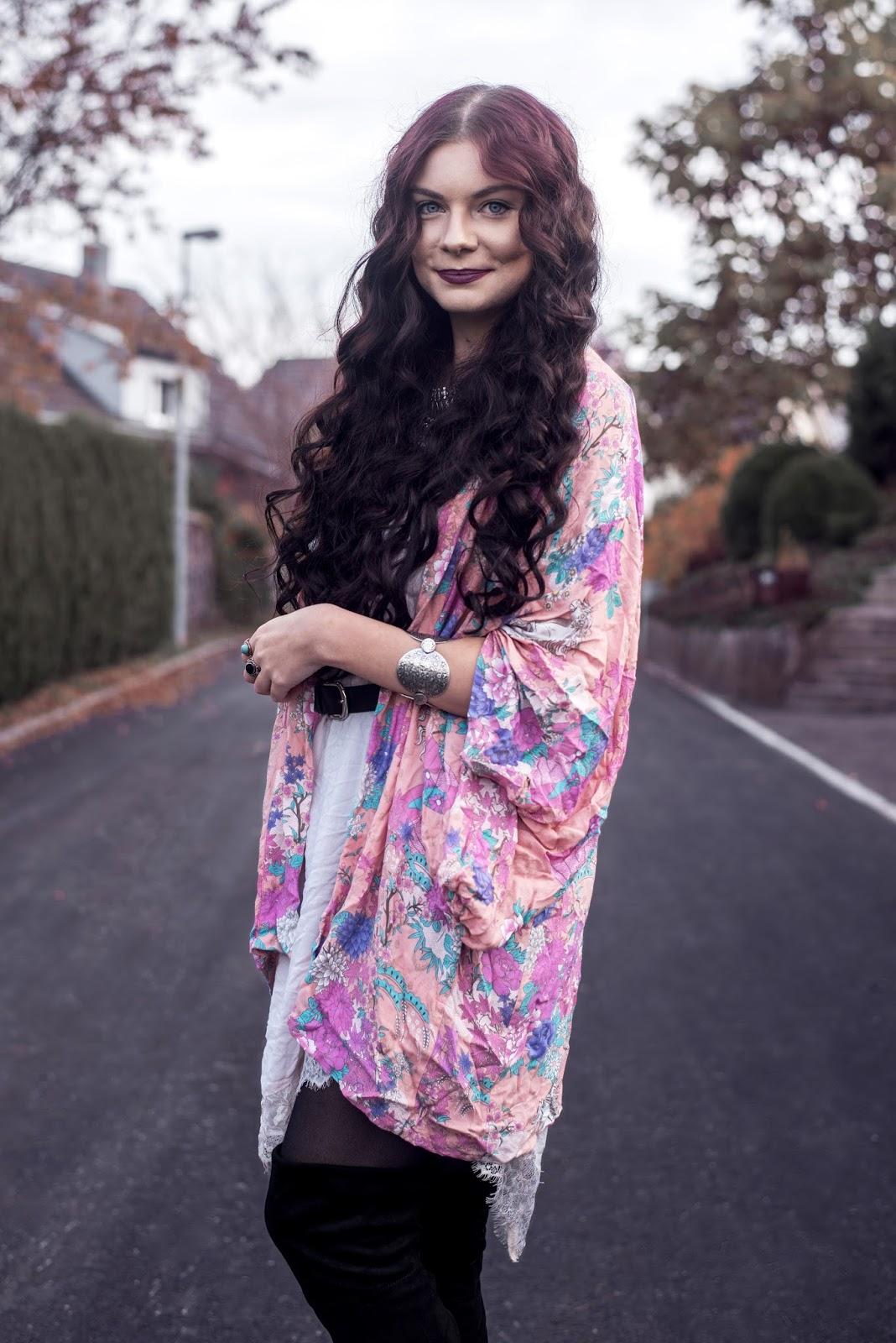 Spell Designs Wild Horses Kimono | Boho Autumn Outfit | Rose Kiara Peaches