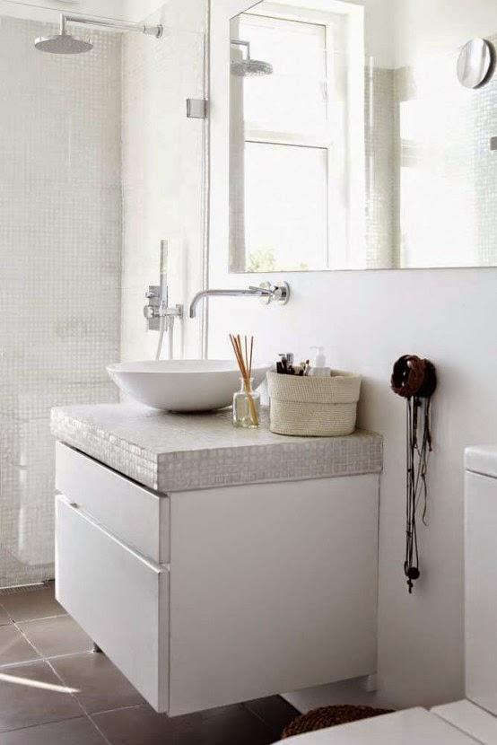 Baño Intimo Con Vinagre Blanco:17 Si estás buscando baños nórdicos con ducha , este baño puede