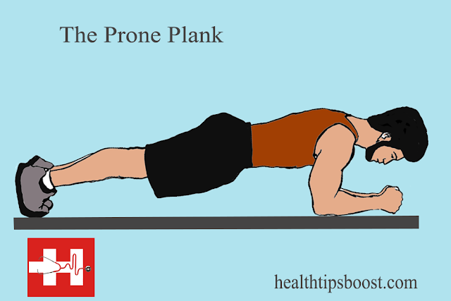 Health Tips Boost The Prone Plank Exercise Workouts