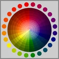 Color in the color circle