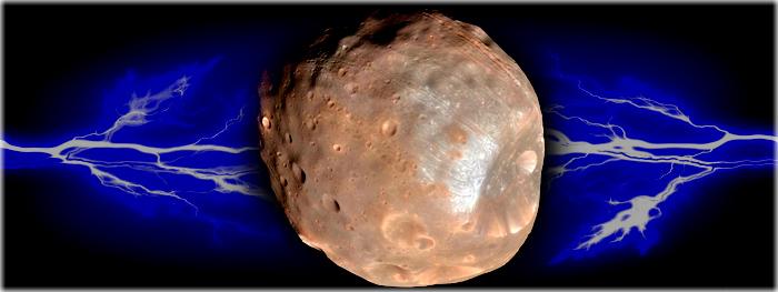 Fobos, lua de Marte, é carregada eletricamente