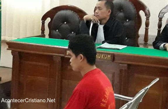 Jeven cristiano condenado por blasfemia en Indonesia