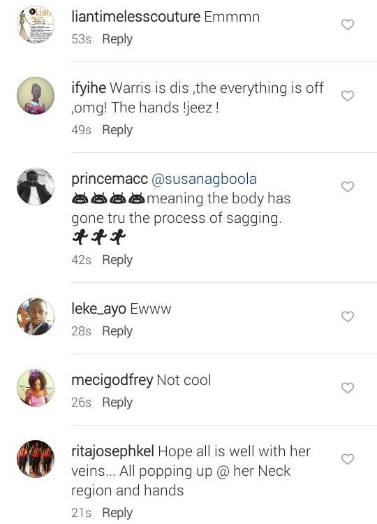 Things people said when Beverly Osu shared bikini photos on Valentine