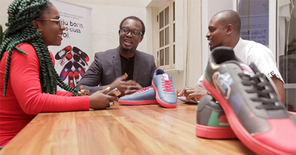 Babajide Ipaye, founder of Keexs Smart Shoes