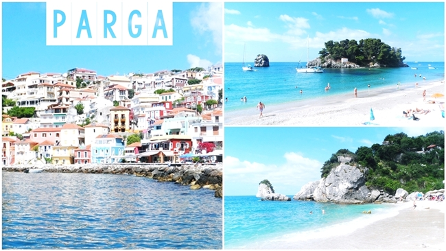 Travel video: PARGA town + PARGA beaches.Parga video.