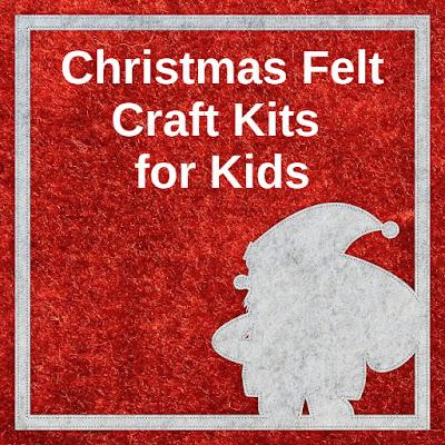Christmas Holiday felt craft kits children kids