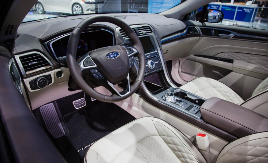 Inside The Fusion S Cabin And Dashboard Layout Are Now Revised Overall Interior Looks To Feel Much More Substantial Features Diamond