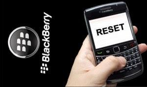 Cara Mudah dan Cepat Wipe Data Blackberry Semua Tipe BB