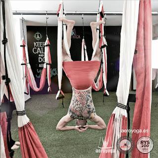 yoga aerien