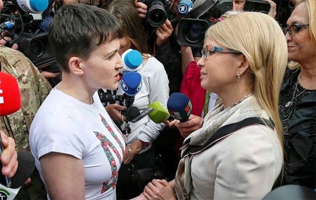 Тимошенко посувають - мережі про Савченко і теракт